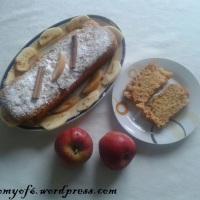 Μηλόπιτα (κέικ μήλου) - εύκολη, υγιεινή,νηστίσιμη !