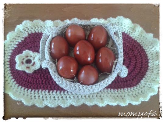 κόκκινα αυγά 1