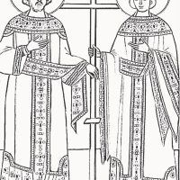 Οι άγιοι Κωνσταντίνος και Ελένη- για παιδιά