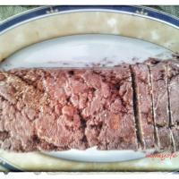 Σοκολατένιος κορμός (μωσαϊκό) χωρίς γάλα (νηστίσιμος)