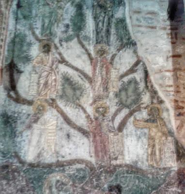 τοιχογραφία: η ρίζα του Ιεσσαί