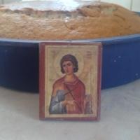 Φανουρόπιτα προς τιμήν του αγίου Φανουρίου