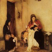 Η «Ψυχομάνα» του Νικολάου Γύζη… και η δική μου γιαγιά
