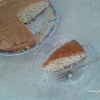Κέικ με ινδοκάρυδο και πορτοκάλι (νηστίσιμο)