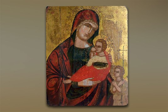 2steps.gr_Icons_holy_virgin_lactans_saint_john_infant_museum_kanelopoulou_athens_attica_001