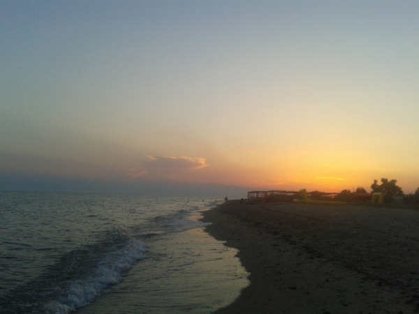 ηλιοβασίλεμα στη θάλασσα momyof6