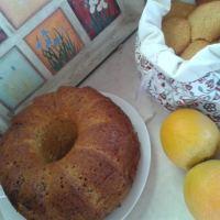 Κέικ με πορτοκάλι , χωρίς αυγά και γάλα (νηστίσιμο) : ελαφρύ και υγιεινό