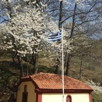 Στον Μελά Καστοριάς (στο σπίτι όπου ο ήρωας άφησε την τελευταία του πνοή...)